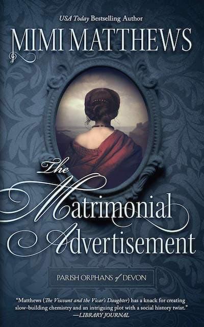 The Matrimonial Advertisment by Mimi Matthews